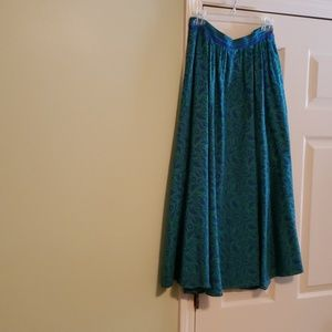 Liz Claiborne gathered skirt